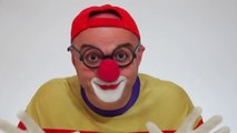 LEGO Car Clown CLONE! Children's Toy Trucks Videos (автомобиль клоун)