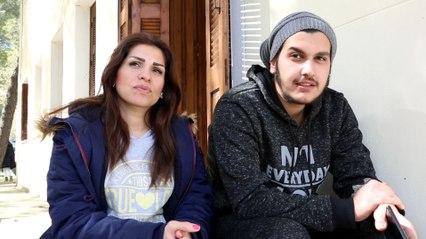 Ιωσήφ και Μαρία.  Από το Χαλέπι της Συρίας, στο μοτέλ της Λαμίας
