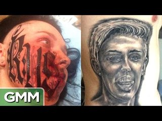 GMM - Top 5 Worst Tattoos (Love Edition) - RANKED - Good Mythical Morning - Rhett and Link