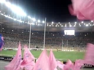 Fin de la Finale Stade Français - Clermont