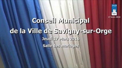 Conseil Municipal de Savigny-sur-Orge