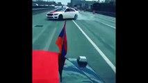 Armenian Cars Drifting _ Armenian Power - Benz