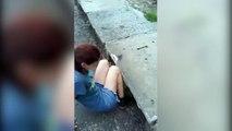 Cette jeune fille va aller dans un égout pour sauver un chat