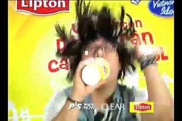 [Hậu trường] Trung Quân tham gia cuộc thi Lipton Idol tại website www.lipsync.vn ???