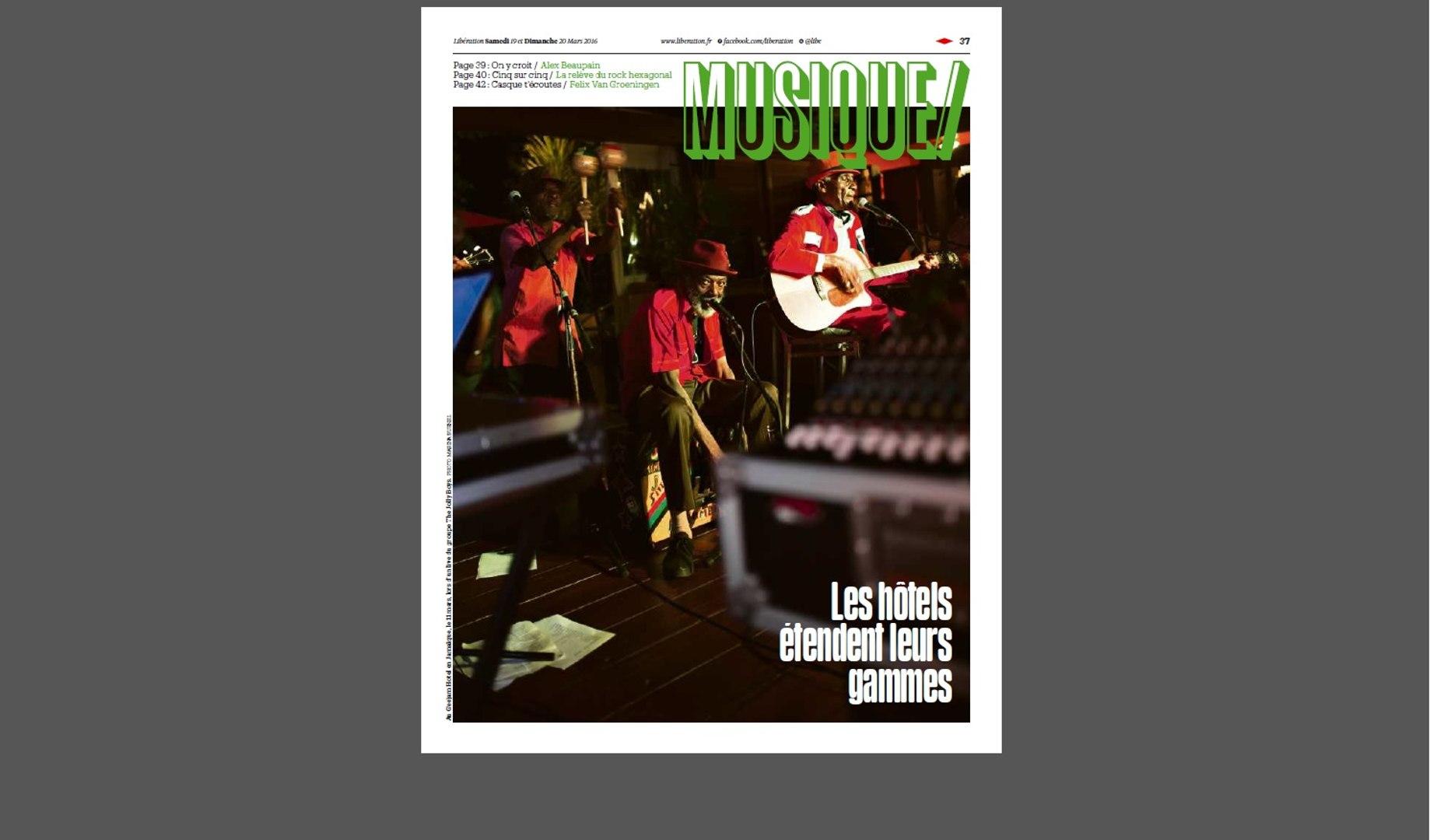Rone, Françoiz Breut, Parquet Courts : la playlist du cahier musique de Libé du 19 mars 2016
