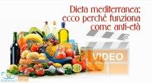 Dieta mediterranea: ecco perché è anti-età