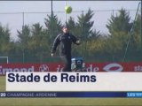 2015 Ligue 1 J31 REIMS GUINGAMP , l' avant match, le 18/03/2016