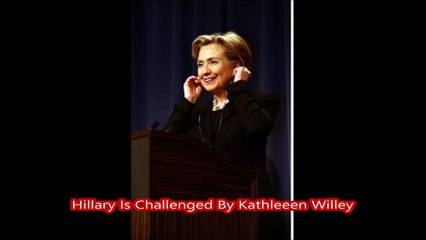 Hillary Is Challenged By Kathleeen Willey