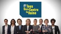 #TousUnisContrelaHaine, des animateurs de France Télévisions mobilisés