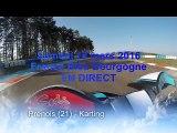 France Bleu Bourgogne vous offre deux tours de karting sur le circuit Dijon-Prenois