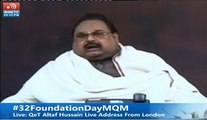 Quaid-e-Tehreek Altaf Hussain addressing the Nation Live after many time – Part 1