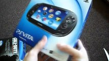Unboxing Sony Playstation Vita PSVita PS Call of Duty Black Ops Declassified Limited Editi