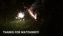 Fire work FUN for KIDS!! Sparkler TIME!!!