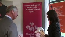 The Prince of Wales opens the new Princes Trust Cymru Headquarters in Cardiff