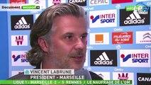 La réaction de Labrune après OM-Rennes