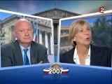 Debat Entre Santini(MP) Et Marielle De Sarnez (MoDem).