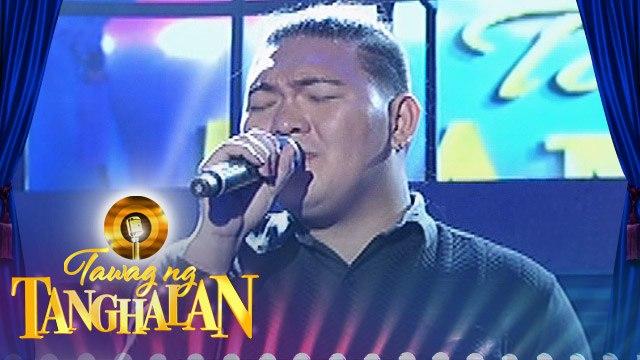 "Tawag ng Tanghalan: RJ Dagapioso - ""Lead Me Lord"""
