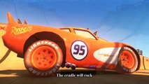 Spiderman Car For Kids - Rock-A-Bye Baby - Nursery Rhymes with Lightning McQueen