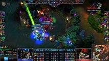 Highlight EG Snoopeh Steal Baron Dig vs EG NA LCS Summer 2014