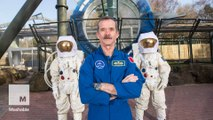 Chris Hadfield tells us about his David Bowie connection and time spent in space
