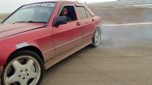 MERCEDES BENZ 190E V8 DRIFT - video dailymotion