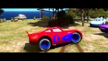 Lightning McQueen Spiderman Ramone Dinoco & Mickey Mouse & Hulk (Marvel) have Fun Disney Pixar Cars