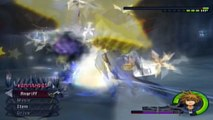 Kingdom Hearts II - Weisen/Normal-Sora & Hercules vs. Sephiroth & Cerberus