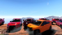 GTA 5: Getting wrecked and failing hard in last man standing