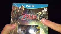 Lets unbox The Legend of Zelda Twilight Princess HD with Wolf Link Amiibo