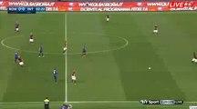 Alessandro Florenzi Fantastic SHOOT - Roma 0-0 Inter Serie A