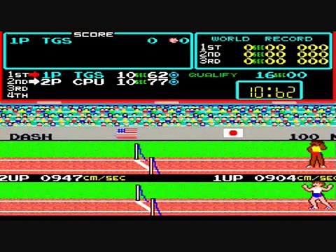 Track And Field 1984 Arcade Classic