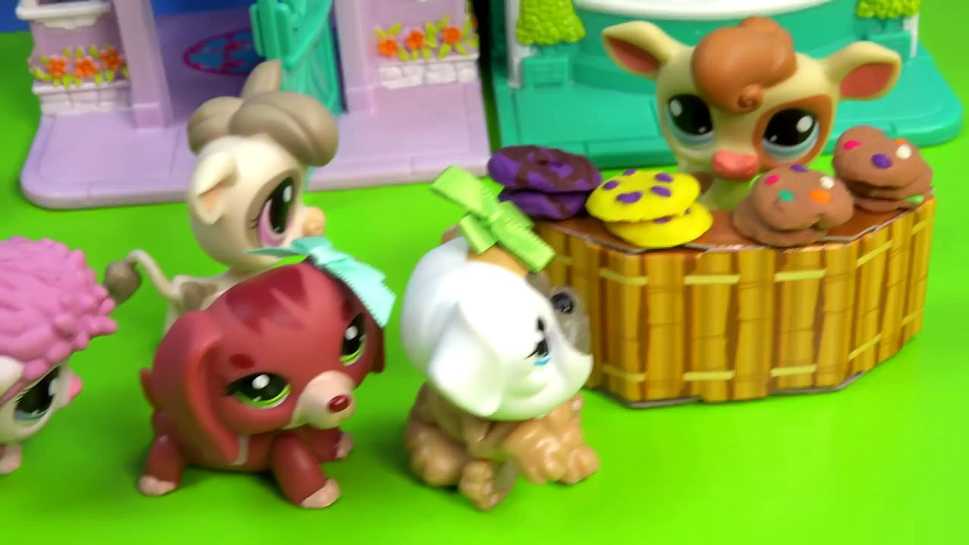 LPS Cookie Sale Kreams Ice Creamery Littlest Pet Shop Part 15 Video Playing Series Cookie