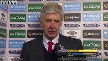 Everton 0-2 Arsenal - Arsene Wenger Post Match Interview - Likes Gunners Attitude