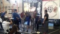 Hellenic Challenge II, 2nd attempt squat 100kg, Open -75kg