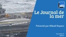 JOURNAL DE LA MER | Le porte avions Charles de Gaulle est rentré à Toulon