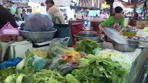 Local Food Market In Ho Chi Minh City Saigon Vietnam 2015