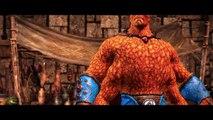 Mortal Kombat X: The Thing Goro & Venom Reptile Skins/Costumes Gameplay! (PC Mod Showcase)
