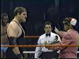 Sgt Slaughter vs SD Jones   Championship Wrestling April 23rd, 1983