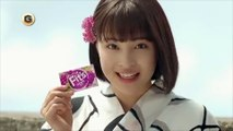 """Actress """"Suzu Hirose"""" starring of Japan, commercial chewing gum Fit's"""