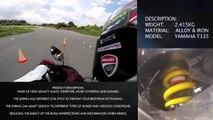 Racing Boy MONOSHOCK & Yamaha EXCITER 2013 -T135 & GYMKHANA: Monoshock Test Video