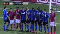 GOAL: Mauro Diaz curls a free kick into the top corner - FC Dallas vs. Montreal Impact - MLS 19/03/2016
