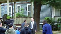 Blue Bloods Set with Donnie Wahlberg 2010