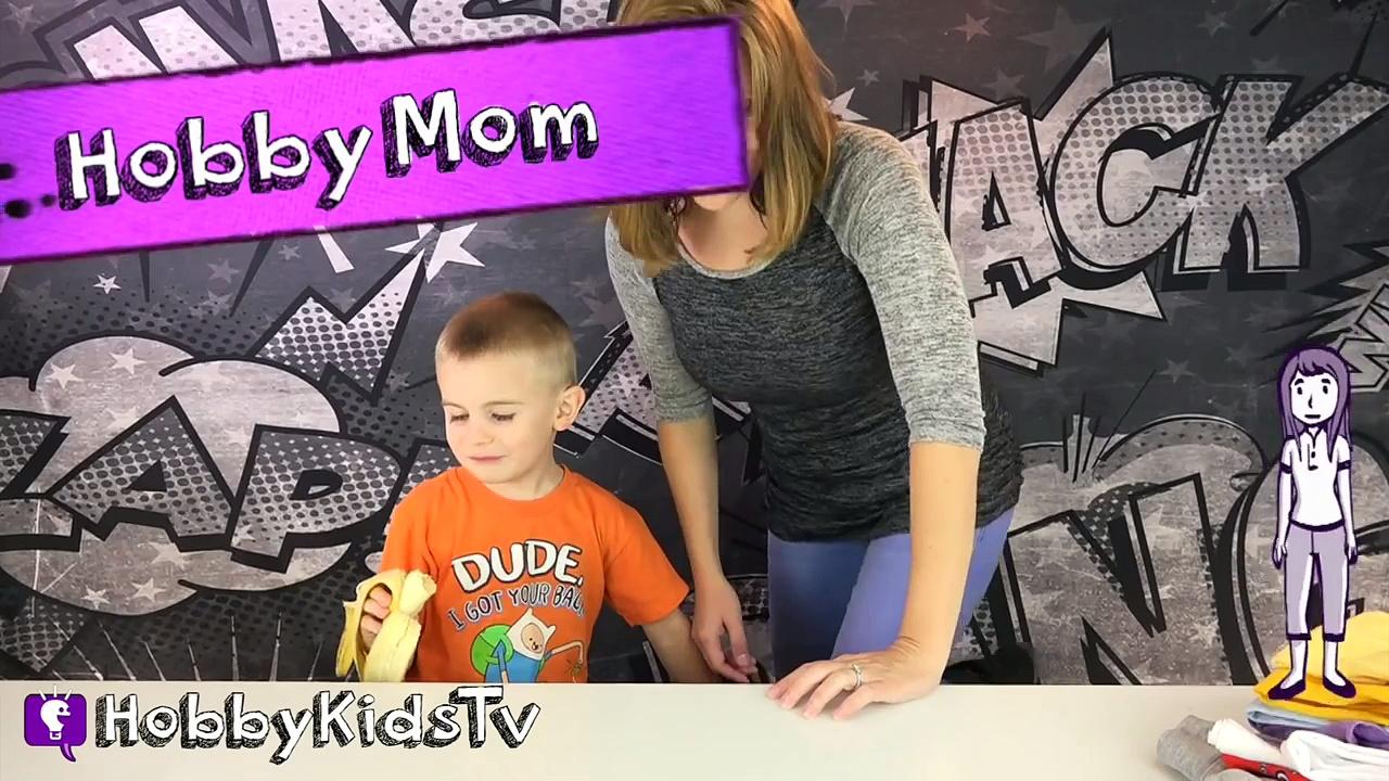 Get New HobbyKid T-Shirts! Buttons + Bags, Mugs. Fun w/HobbyFrog nHobbyMom HobbyKidsTV