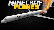 Minecraft: PLANE MOD (Plane Crash, Helicopters, Military Planes, Private Jets) Mod Showcase