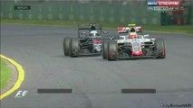 Les images de l'énorme crash de Fernando Alonso au Grand Prix  au Formule 1 de Melbourne ce matin