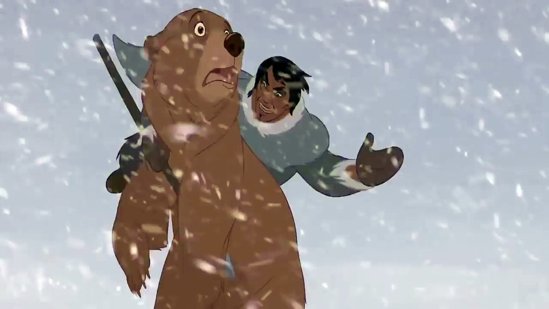 Brother Bear - Denahi confronts Kenai on the mountain HD – Видео Dailymotion