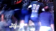 Snoop Doggs Son Cordell Broadus -- Bench Clearing Brawl