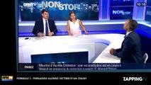 Formule 1 : Fernando Alonso victime d'un violent crash lors du Grand Prix d'Australie (Vidéo)