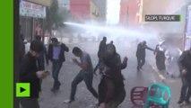 La police utilise des canons à eau contre les Kurdes célébrant Norouz
