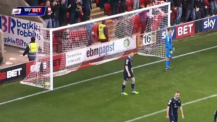 Leyton Orient 4 1 Crewe Sky Bet League 1 Season 2014 15